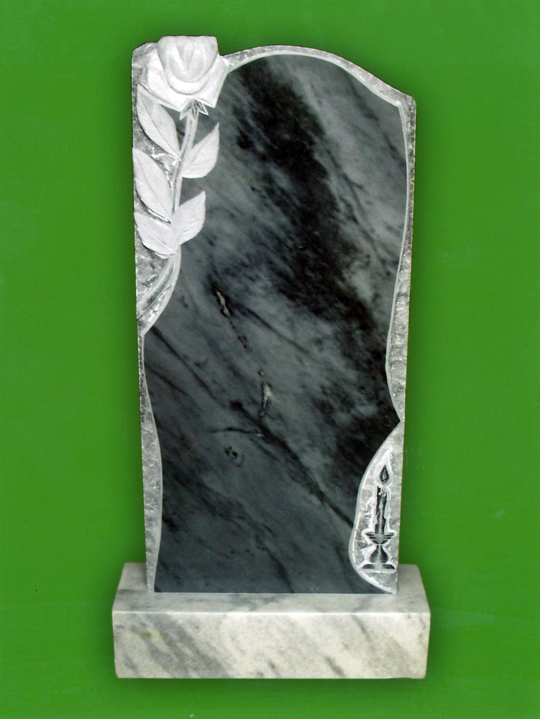 Памятник из мрамора № 9
