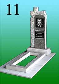 Памятник из гранитной крошки 11