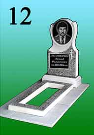 Памятник из гранитной крошки 12
