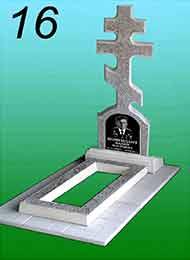 Памятник из гранитной крошки 16