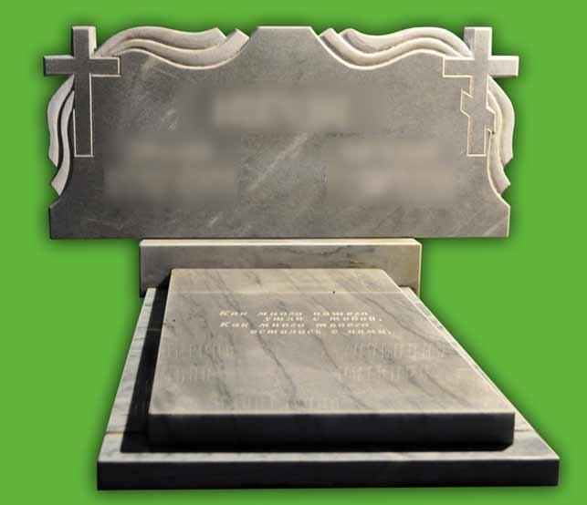 Памятник из мрамора № 25