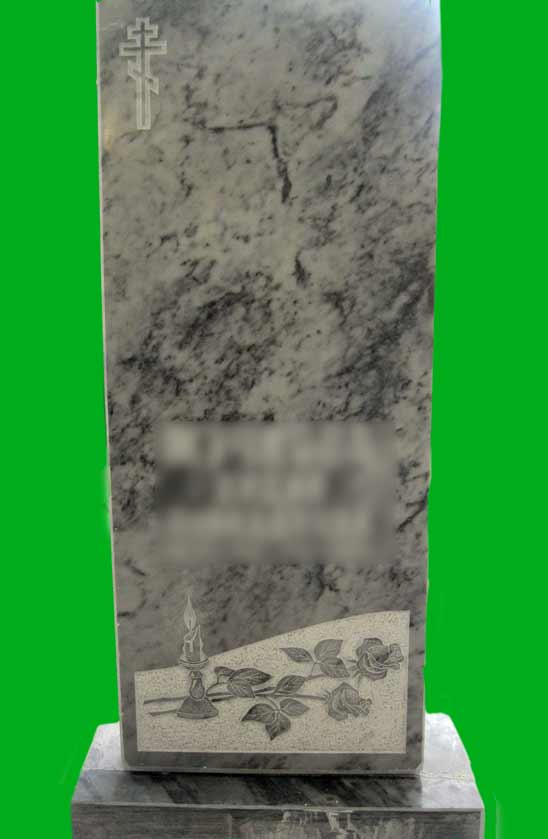 Памятник из мрамора № 28